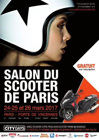 salon du scooter de paris 2017