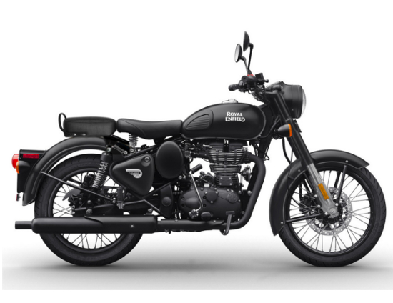 Royal enfield stealth black 2018 noir mat